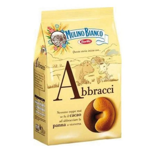 galletas abracci - galletas de matequilla y cacao - productos italianos
